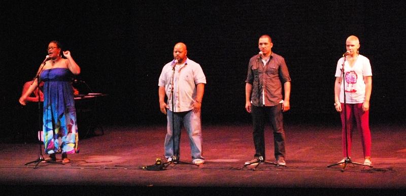 Poetry slam contestants in Albuquerque